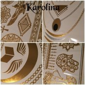 BeautyQ Golden tattoo Karolina