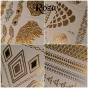 BeautyQ Golden tattoo Roza