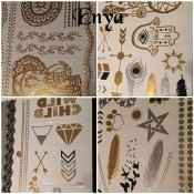 BeautyQ Golden tattoo Enya